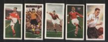 5 different CHIX FOOTBALL CARDS Series 1 1953  #497